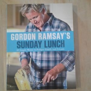 Gordon Ramsay's Sunday lunch cookbook.
